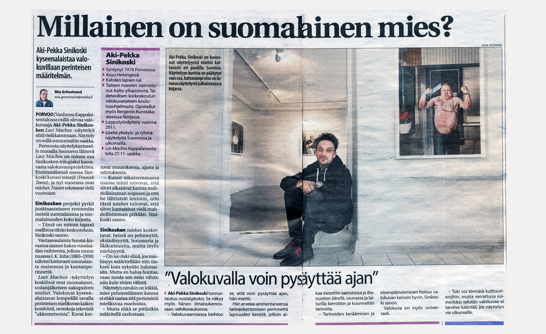 Aki-Pekka Sinikoski - Uusimaa